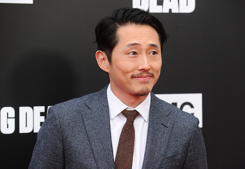 "Steven Yeun from ""The Walking Dead"" is going to be a dad! All the congrats!"