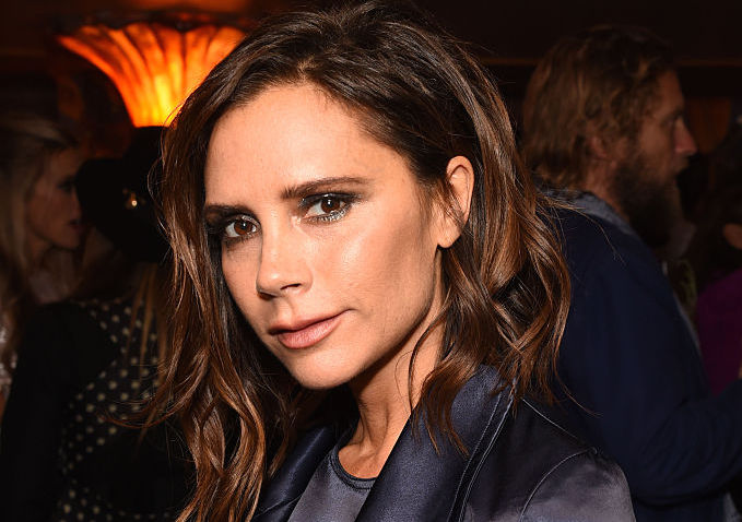 Posh Spice looks more like Pumpkin Spice in this lush dress