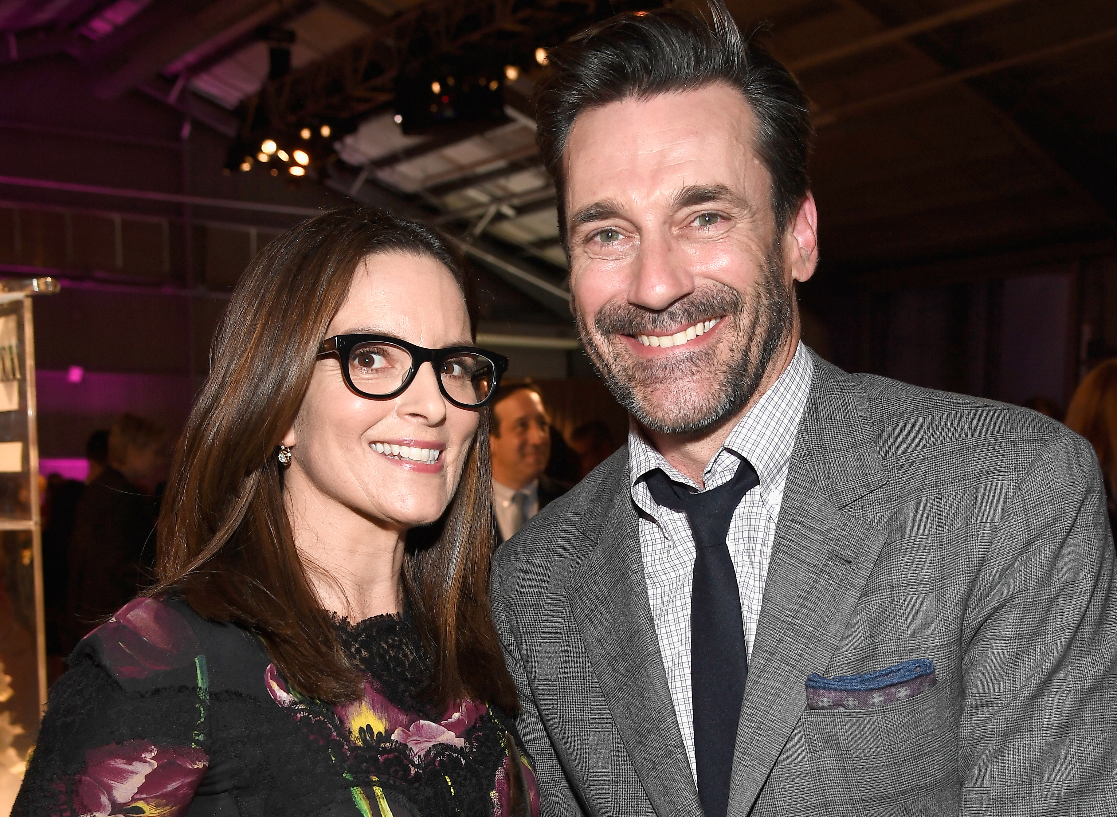 "Whoa, Tina Fey is not ""Team Jon Hamm"" and we might have a problem here"