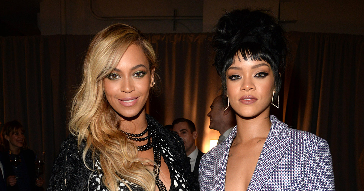 People thought Rihanna was throwing shade at Beyoncé because in 2016 we're still pitting women against each other