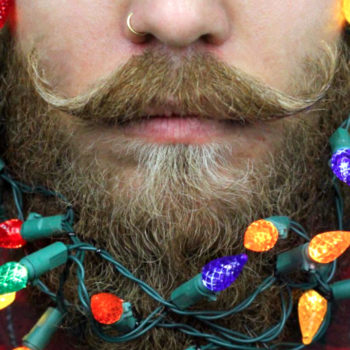 "So, ""Christmas beards"" are a thing now, in case you were wondering if the holidays could get any more festive"
