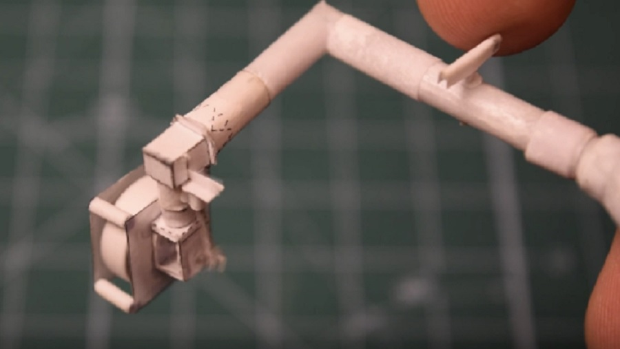 This guy built a tiny engine from paper and his immaculate handiwork is mind-boggling
