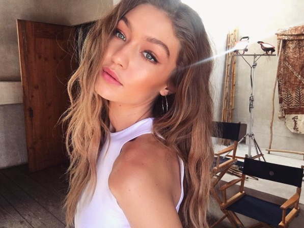 Gigi Hadid is obsessed with her cat eye sunglasses and here's how to steal her look