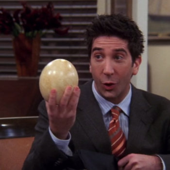 LOL: Ross Geller has a Rate My Professor page