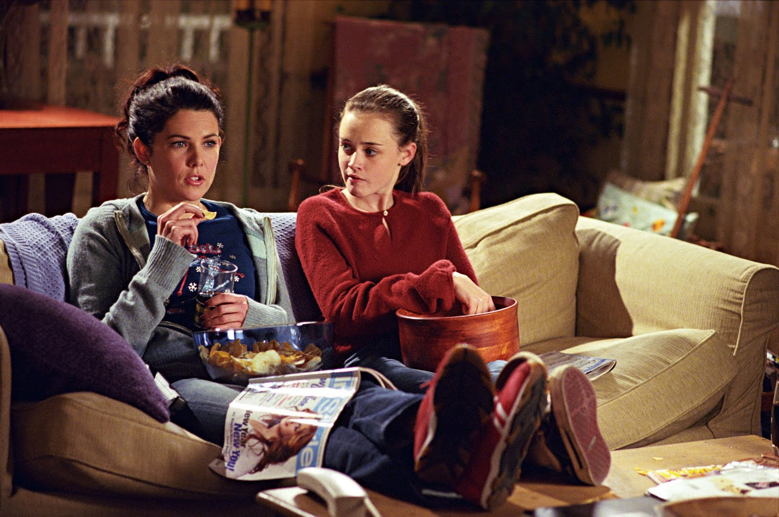 """This """"Gilmore Girls"""" blooper reel is everything we've ever wanted out of life"""
