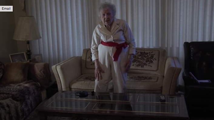 This 87-year-old grandmother performing her high school cheerleading routine is the only thing you need to watch today