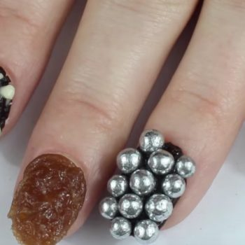 These chocolate manicures are actually edible because the future is here and it is delicious