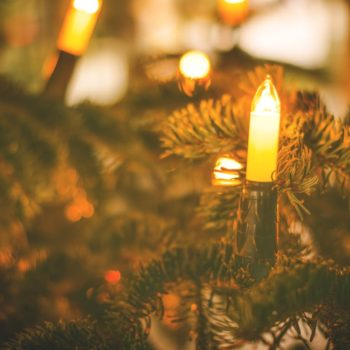 You've probably been hanging the lights on your Christmas tree all wrong