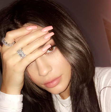Kylie Jenner is winning the biggest Christmas tree ever game