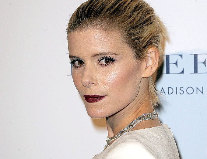 Kate Mara looks like an edgy snow angel in her absolutely adorable winter outfit, and it's the perfect holiday party look