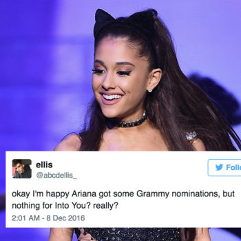 This Ariana Grande fan took to Twitter to explain why she deserves a Grammy and it's completely iconic