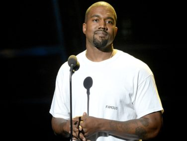 Not only is Kanye West back, but he's blonde