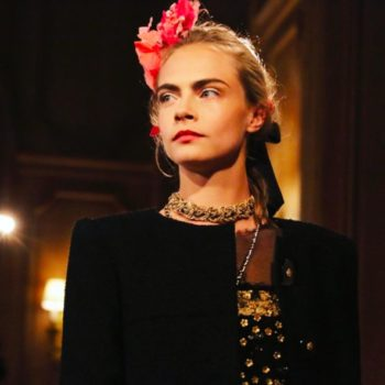 This Insta vid of Cara Delevingne dancing on the Chanel show runway is our everything