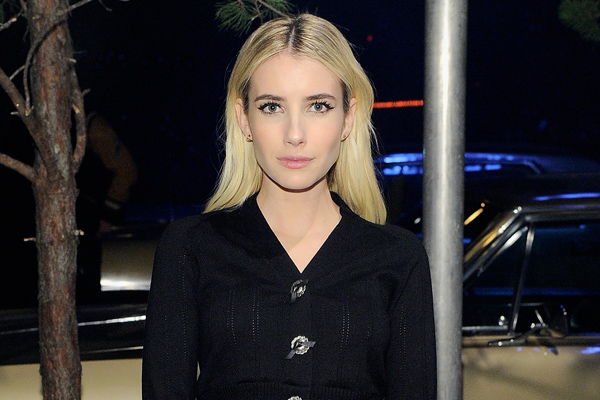 This is how Emma Roberts gets ready before the Coach 75th anniversary runway show and party
