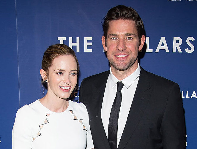 John Krasinski said the most beautiful thing about wife Emily Blunt