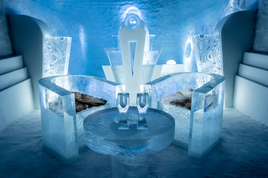 This hotel made of ice will now be open year-round and it's so COOL (pun intended)