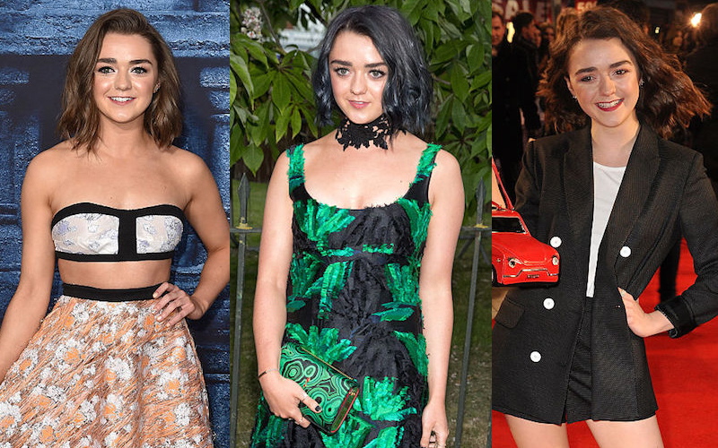 17 Maisie Williams fashion moments that ruled the red carpet in 2016