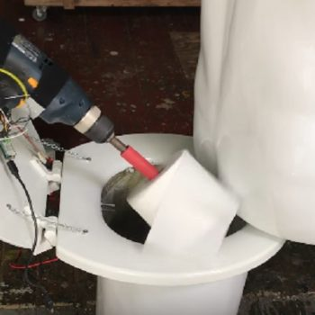 This woman invented a butt-wiping robot, in case you're *really* too busy