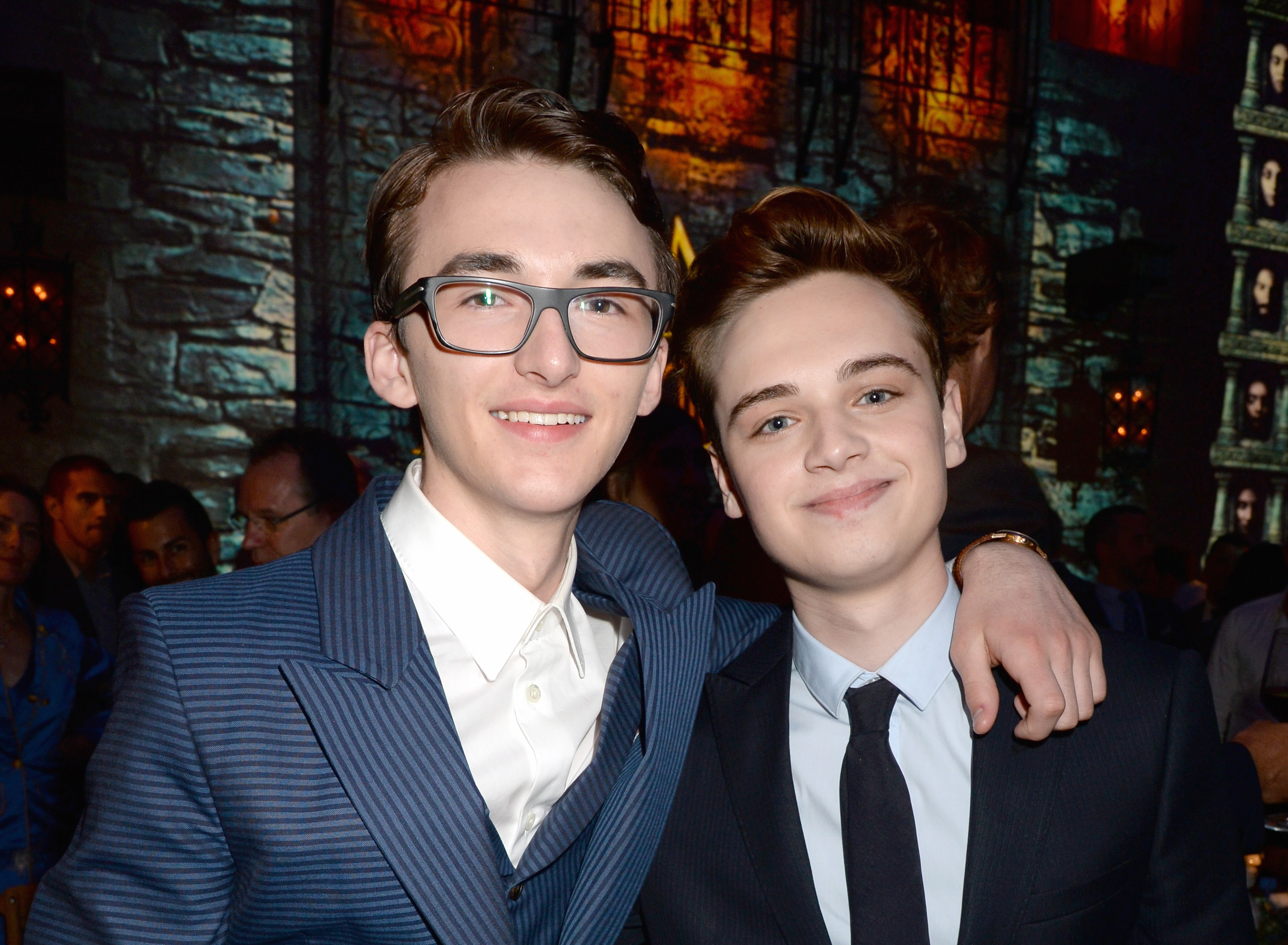 "Tommen and Bran from ""Game of Thrones"" spend every waking minute together IRL"