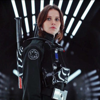 "Felicity Jones is totally cool with ""Rogue One"" not getting a sequel and we get it"