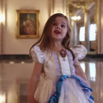 This 4 year old's cover of 'Tale As Old As Time' is the perfect 'Beauty and the Beast' tribute