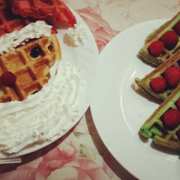 8 holiday-inspired waffles that are just begging to be made this weekend
