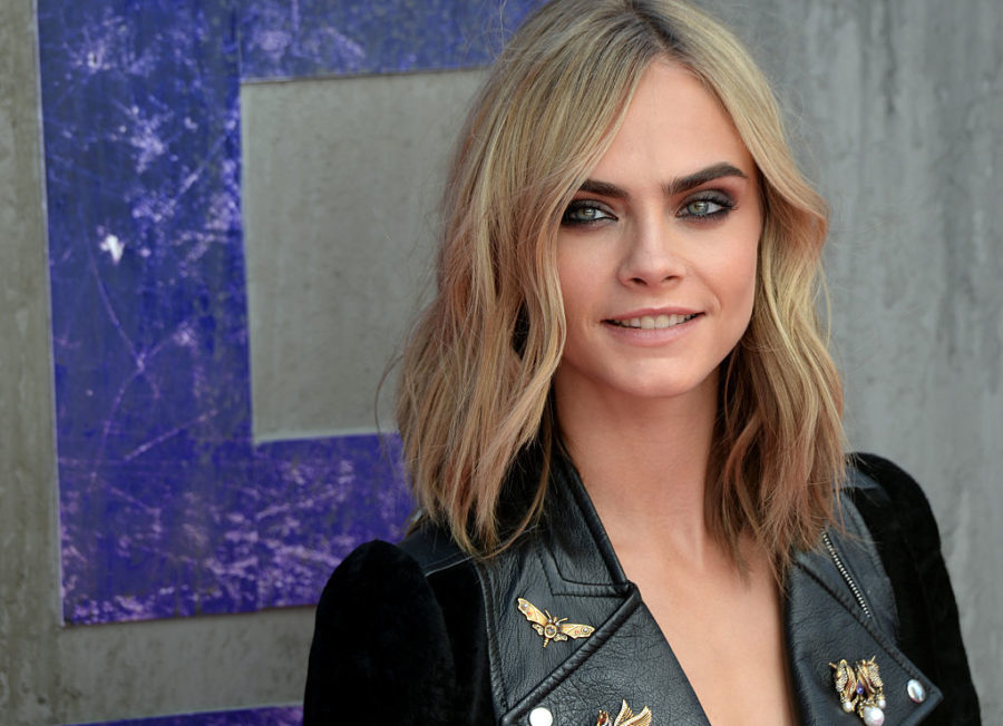 Cara Delevingne went to a pop-up Santa-themed rave and it looks like the best thing ever