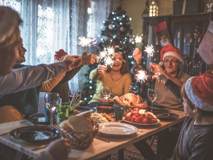 4 essential tips for single people whose families get *super* nosy about their love life during the holidays