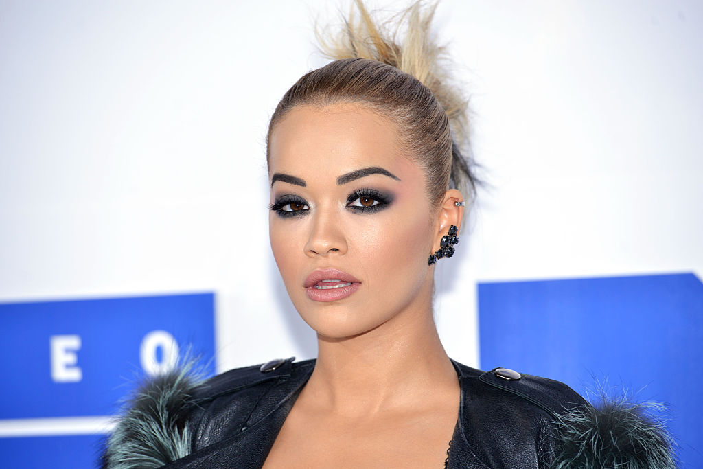 Rita Ora absolutely killed it in this crazy corset and cargo pants look we never thought could look so glam