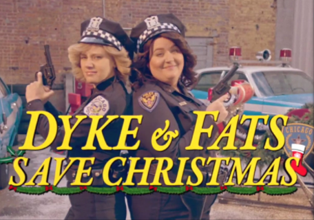 Kate McKinnon & Aidy Bryant save Santa in this hilarious SNL sketch