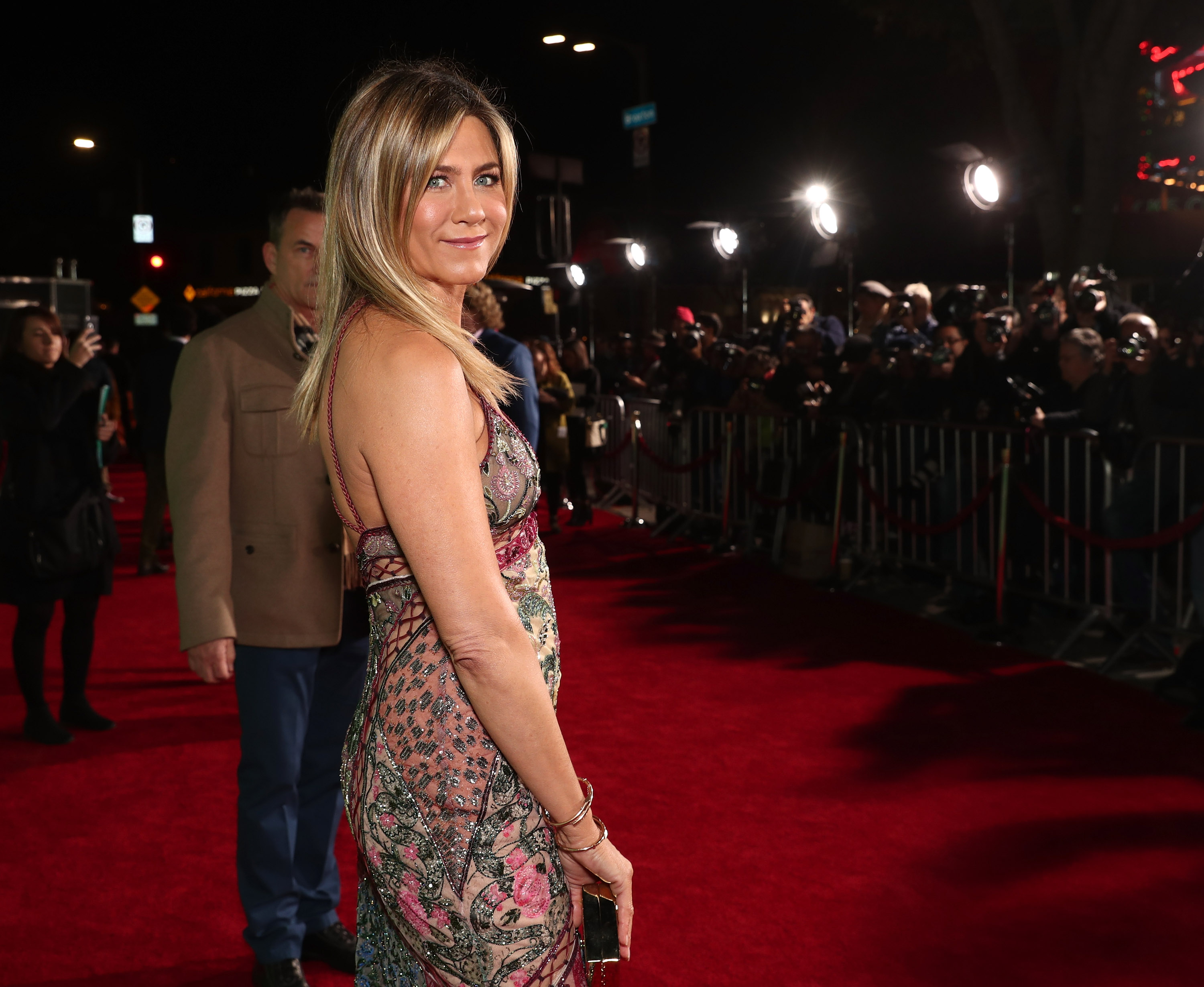 Jennifer Aniston tells Chelsea Handler that she wants to play a superhero — but there's one catch