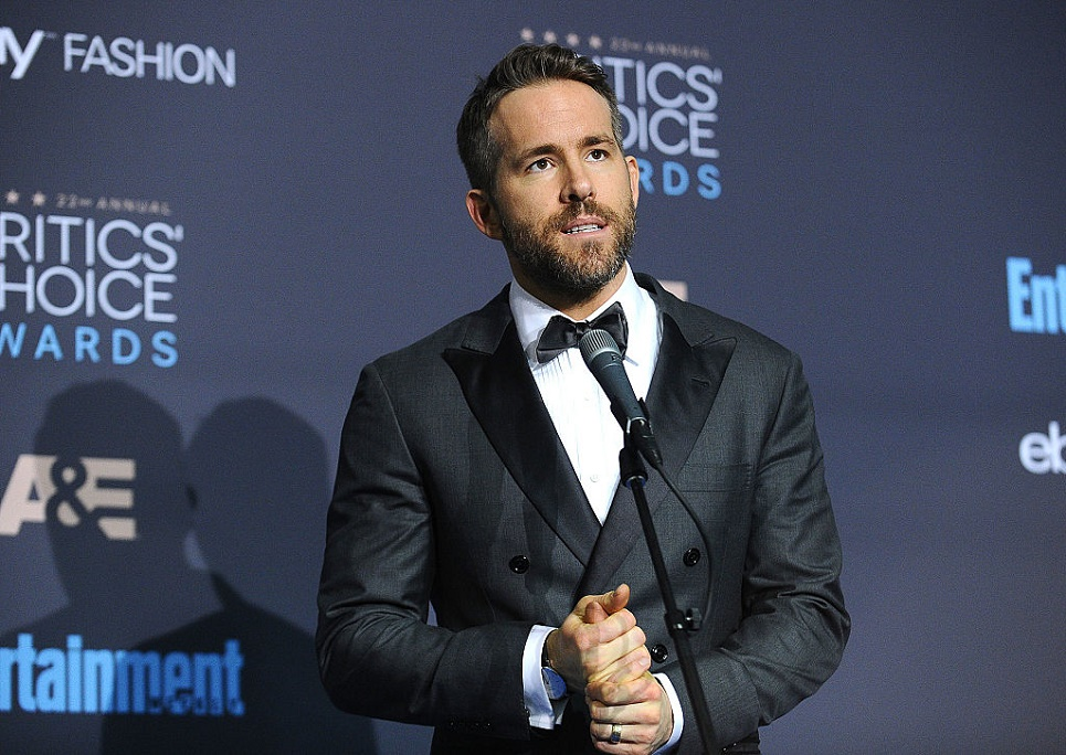 Ryan Reynolds thinks that Tom Hanks inspired his daughter's first full sentence, and LOL