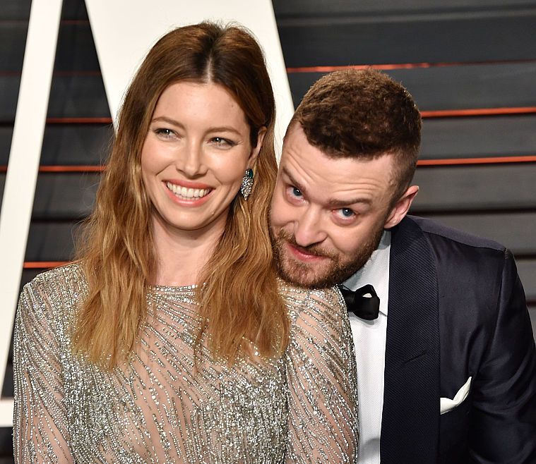 Justin Timberlake and Jessica Biel looked more in love than ever on the red carpet last night