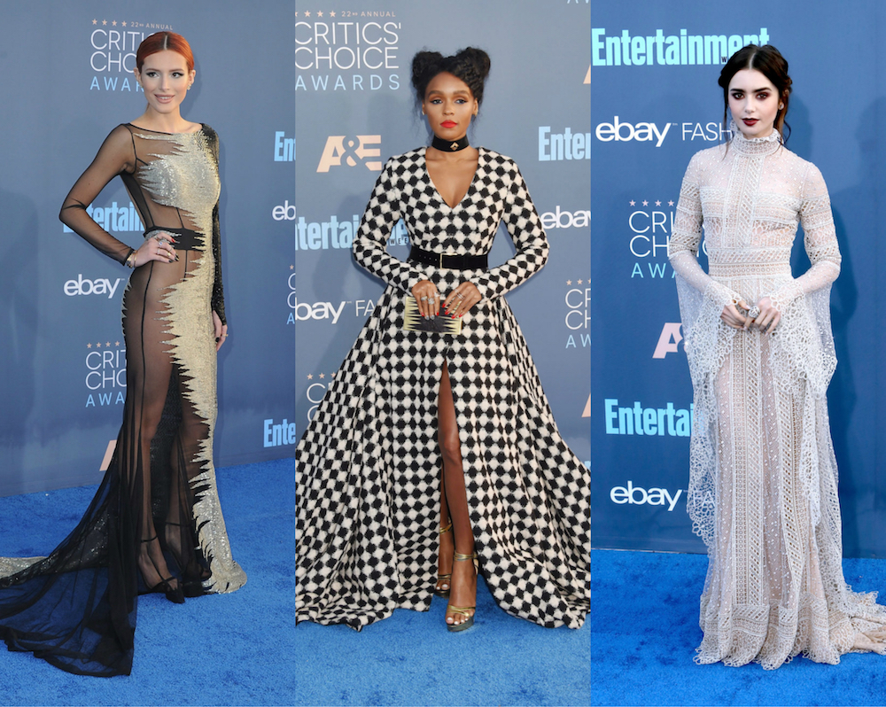 Here are 13 of the best looks from the Critics' Choice Awards