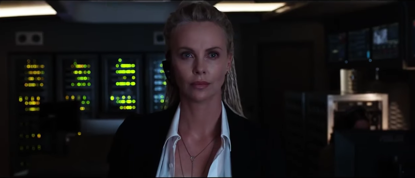 "Here's the first look at Charlize Theron in ""The Fast and the Furious"" sequel and it's fierce"