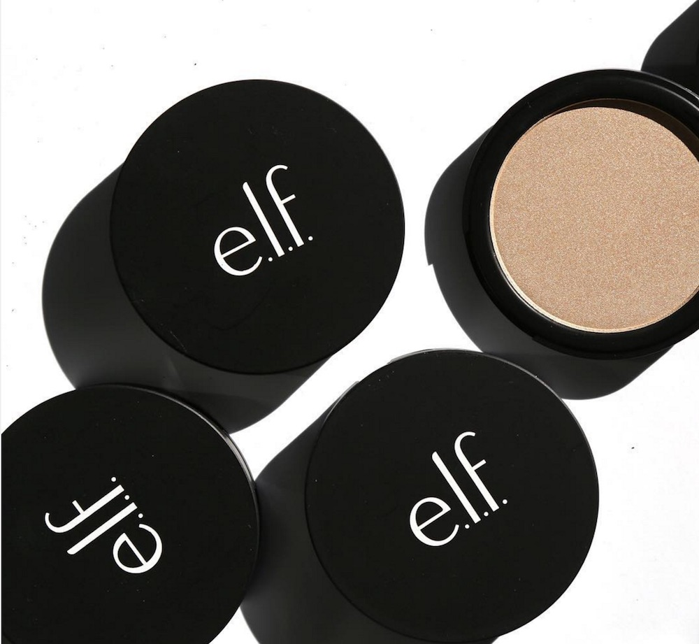 E.l.f's new gold highlighter looks like the drugstore version of Jaclyn Hill's Champagne Pop