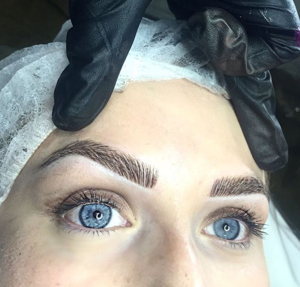 The hottest brow trend on Pinterest is still going strong into 2017