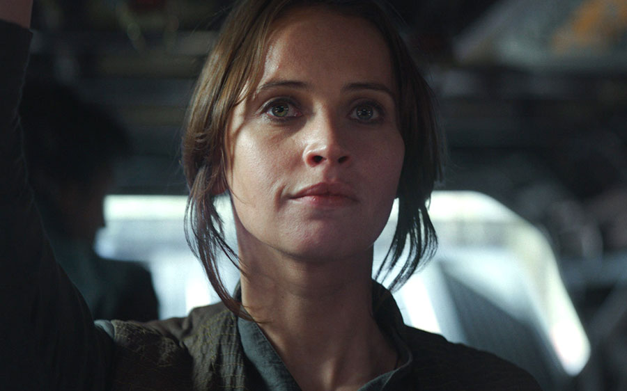 """Rogue One"" delivers on a perfect combination of nostalgic ""Star Wars"" magic and edgy new twists"