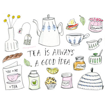 When in doubt, make a cup of tea