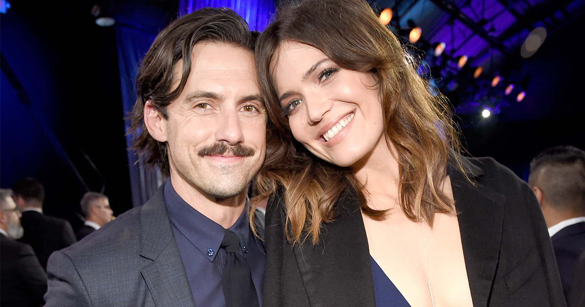 Mandy Moore found out about her Golden Globe nomination from Milo Ventimiglia and they're just the cutest