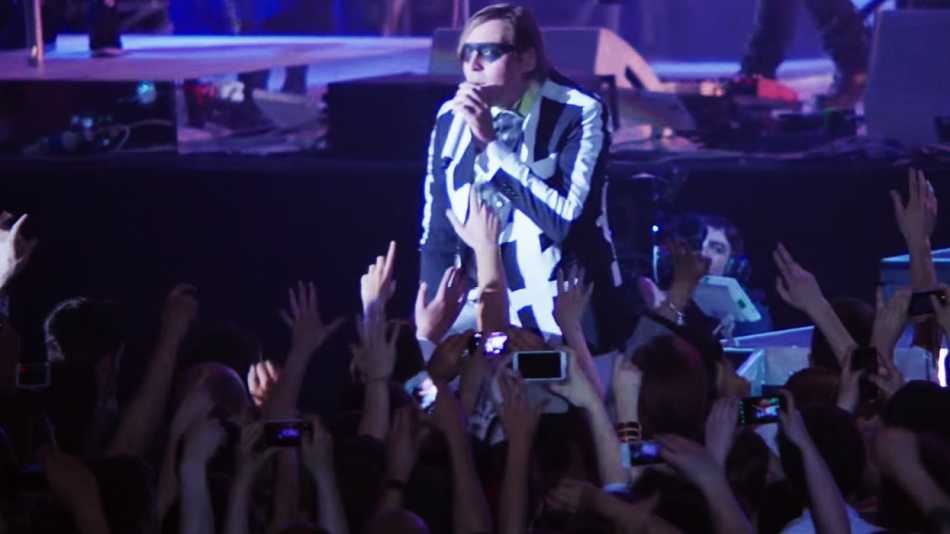 Arcade Fire released a clip of their upcoming concert documentary, and it's stunning