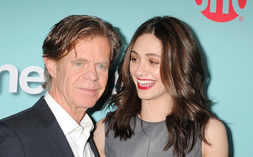"This is what William H. Macy has to say about Emmy Rossum demanding more money than him on ""Shameless,"" and we're literally cheering"
