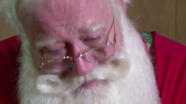 This professional Santa did something so incredibly beautiful for a dying child, and we're beyond moved