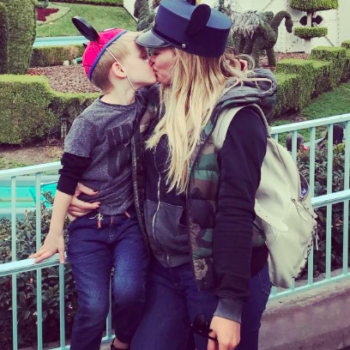 Hilary Duff defends herself against the people who thought it wasn't okay that she kissed her son