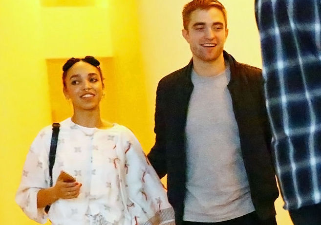 Robert Pattinson and fiancée FKA Twigs look like royalty at rare red carpet appearance