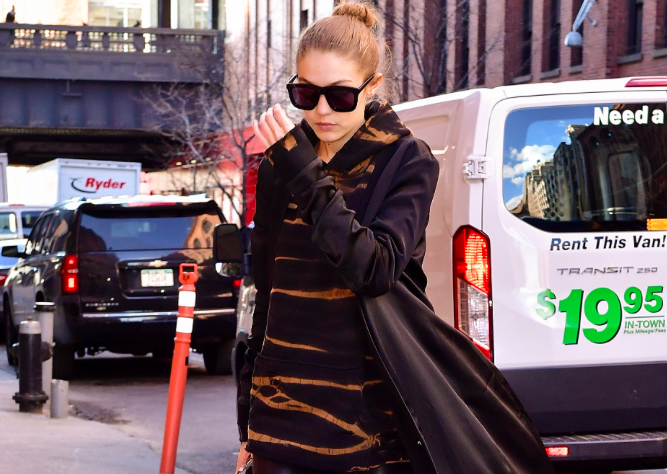 Gigi Hadid's winter fashion is a literal primer in how to layer like a fashion kween