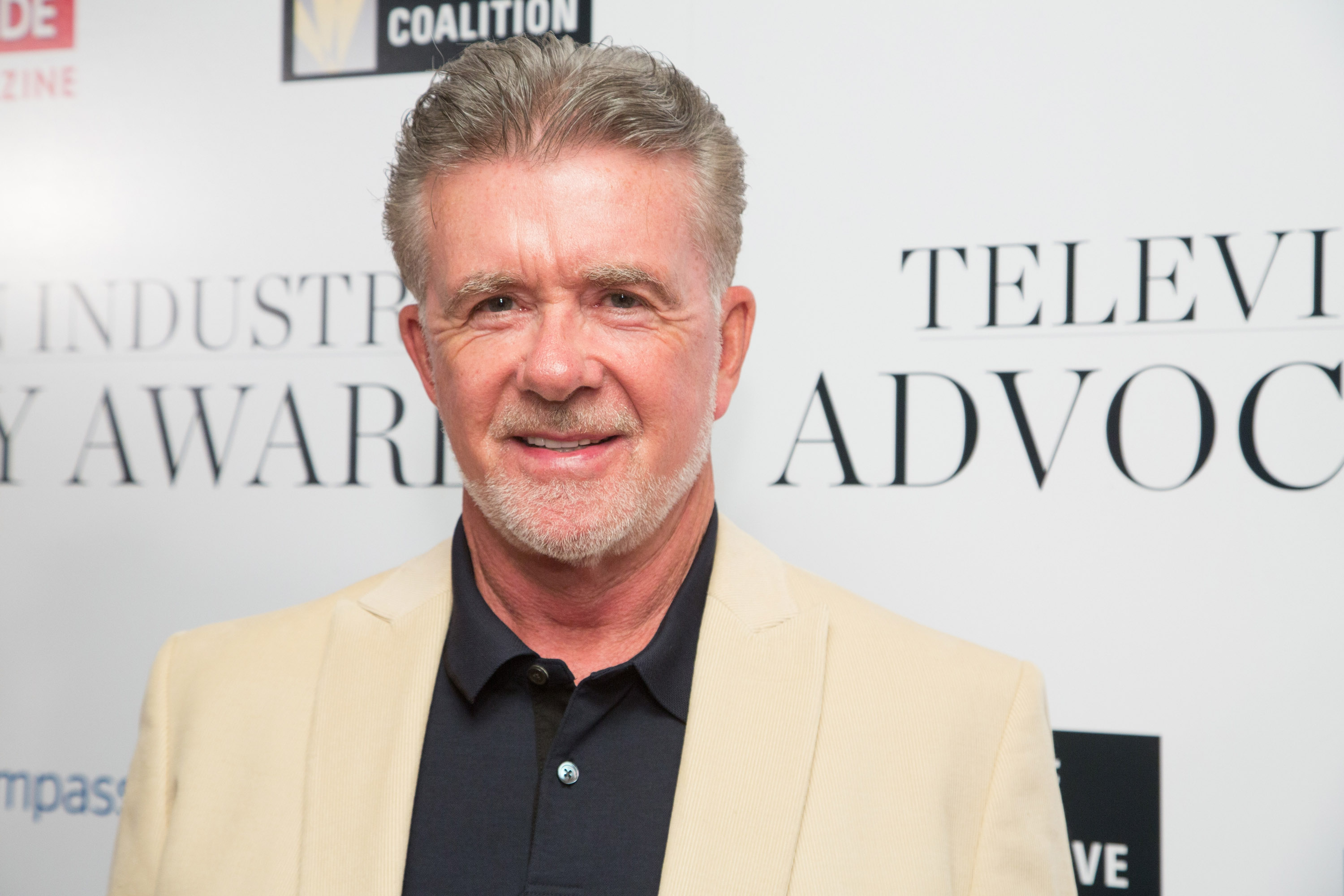We just learned that TV legend Alan Thicke has died, and our hearts are breaking
