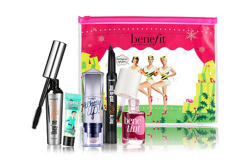 Benefit Cosmetics just released this must have holiday collection filled with tons of faves