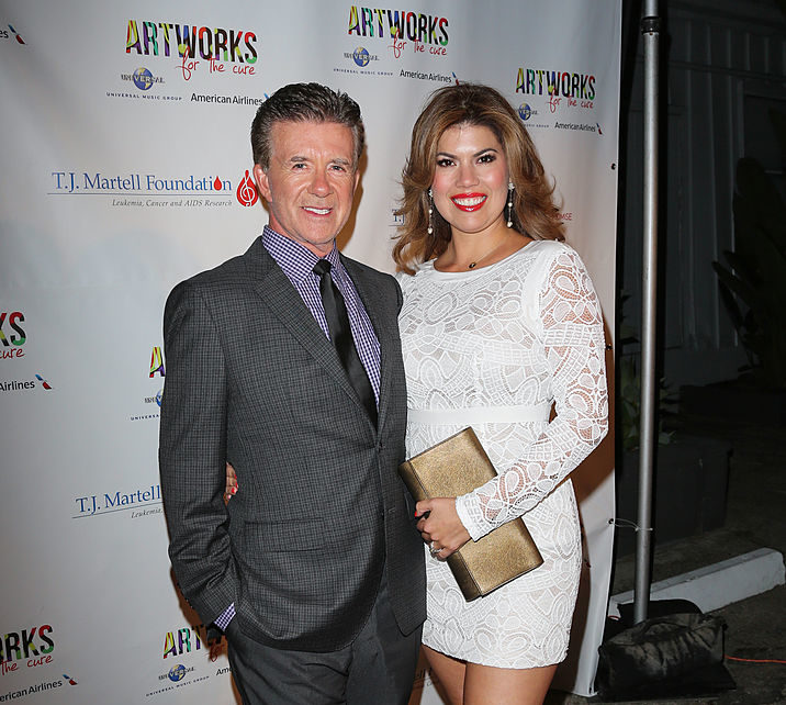 Alan Thicke's wife shared one of the last photos ever taken of them together, our hearts hurt