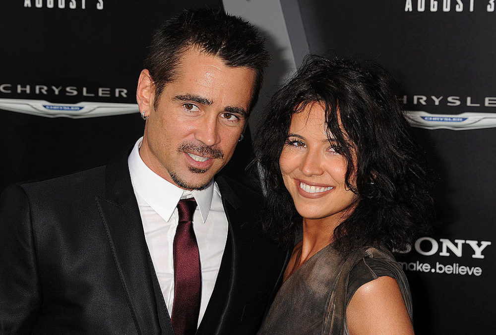 Colin Farrell's sister basically proves their family totally wins the gene pool